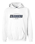 Corner Canyon Football Established White Hooded