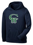 Copper Hills Grizzlies Performance Hooded Navy Sweatshirt