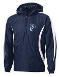 Chargers  Corner Canyon Chargers Football -  Hooded Sideline 1/2 Zip Jacket