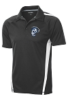 Corner Canyon Chargers Football - Gray (Grey) Performance Sideline Polo Shirt