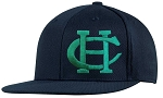 Copper Hills Baseball – Flat Bill Cap - Old School Snap-Back Hat - Navy