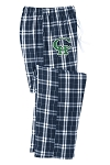 Copper Hills Football  - Flannel Plaid Pants - Young Men and Juniors Sizes (Sleep)