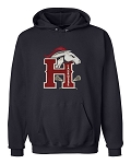 Herriman Girls Lacrosse Mustangs Navy Hooded