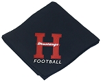 Herriman Mustangs Football Sweatshirt Stadium Blanket