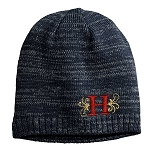 Herriman Mustangs Football Spaced-Dyed Beanie