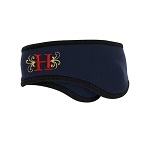 Herriman Mustangs Football Two-Color Fleece Headband
