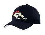 Herriman Mustangs Football  – Sideline Cap - Navy Flex Fit (Hat)