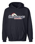 Herriman Mustangs Football Logo Navy Hooded