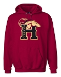 Herriman Mustangs Softball Cardinal Hooded