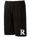 Riverton Silverwolves Lacrosse – Team Logo, Performance Game Shorts with Pockets