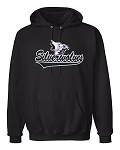 SilverWolves Howling Black Hooded