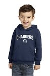Corner Canyon Chargers Basketball  - Infant to Adult Hooded Sweatshirt with Logo (Hoodie Hoody)