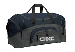 CHXC 2020 Copper Hills Grizzlies Cross Country - Reflective Logo -Team Duffel Bag