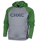 CHXC 2020 Copper Hills Grizzlies Cross Country Performance - Embroidered Hooded Sweatshirt (Hoodie Hoody)