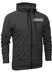 CHXC 2020 Copper Hills Grizzlies Cross Country - Adult - Charcoal - Warm-Up Jacket – Reflective Team logo