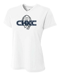 CHXC 2020 - Ladies - Copper Hills Grizzlies Cross Country - Cooling Performance White - Wicking T-Shirt