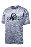CHXC - Adult 2019 - Copper Hills Grizzlies Cross Country - Cooling Performance Spaced-Dyed Navy - Wicking T-Shirt