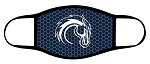Chargers - Charger Logo - Triple Layer Fabric Facemask - Corner Canyon High School
