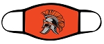 Spartans - Orange - Full Color Spartan Logo - Triple Layer Fabric - Murray High School