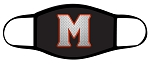 Spartans - Black - Metal M - Triple Layer Fabric - Murray High School