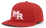 Mt Ridge Sentinels Baseball - (Red) Baseball Cap Hat with PUFFED Logo