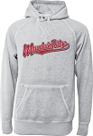 Mt Ridge Sentinels Baseball - Acid Washed Burnout Fleece Hooded Sweatshirt with Retro Sprayed Ink Finish (Hoody Hoodie)