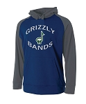 Copper Hills Band Raglan Performance Hooded Sweatshirt (Hoodie Hoody)