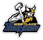 Westlake Thunder Thor Logo - Window Decal