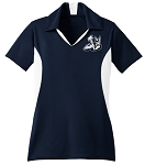 Westlake Thunder - Ladies Performance V-Neck Polo Shirt
